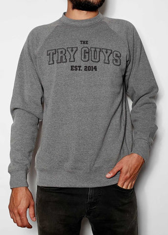 The Try Guys College Sweatshirt