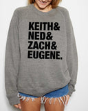 The Try Guys Keith & Ned & Zach & Eugene Sweatshirt