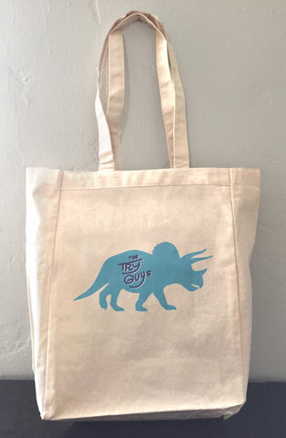 The Try Guys Tryceratops Tote Bag