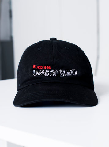BuzzFeed Unsolved Logo Dad Hat