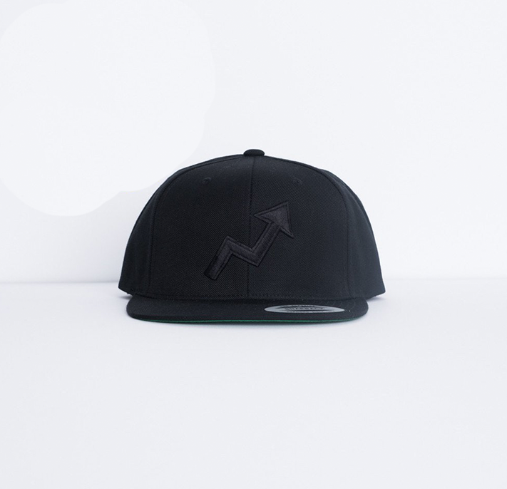 BuzzFeed Viral Arrow Snapback Hat