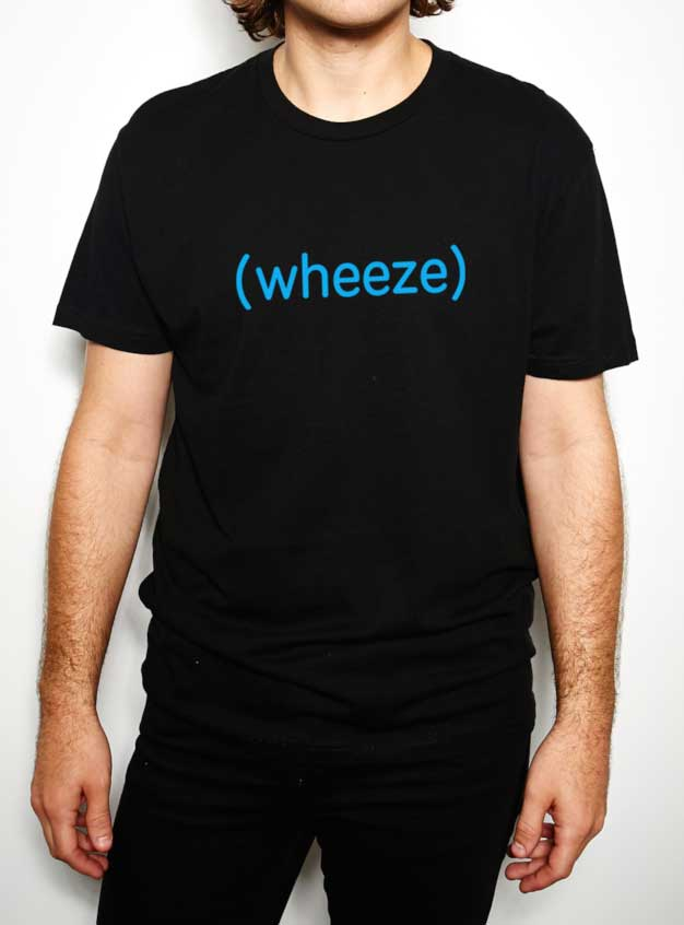 BuzzFeed Unsolved (wheeze) Crew Neck T-Shirt