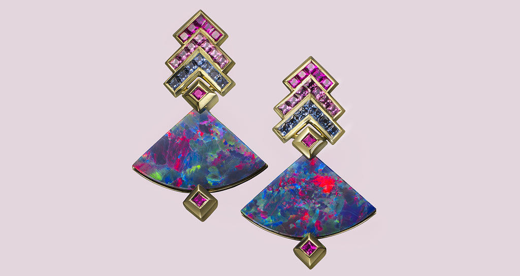 THE OPAL EARRINGS