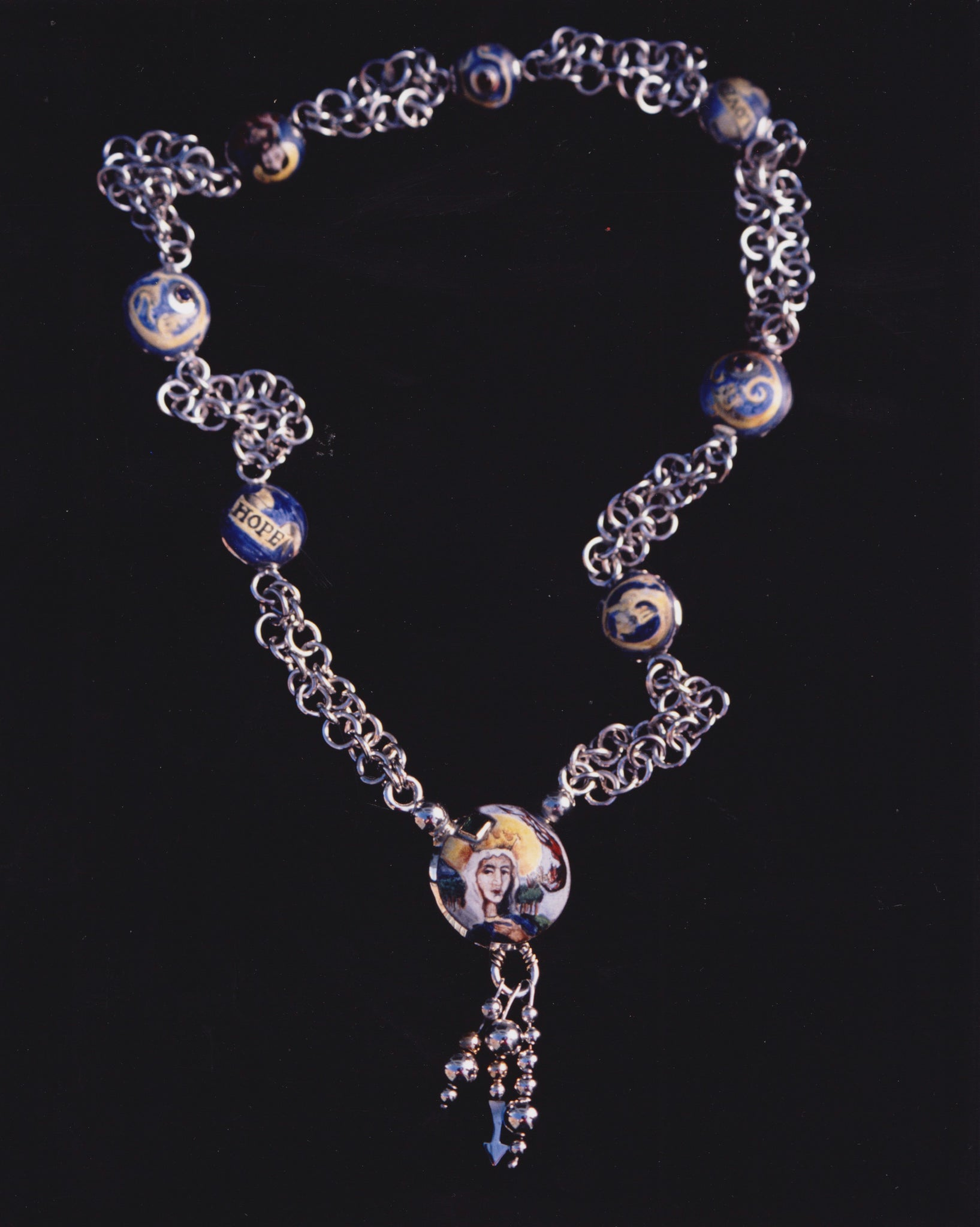 EARLY WORK<br>ENAMEL NECKLACE<br>1991