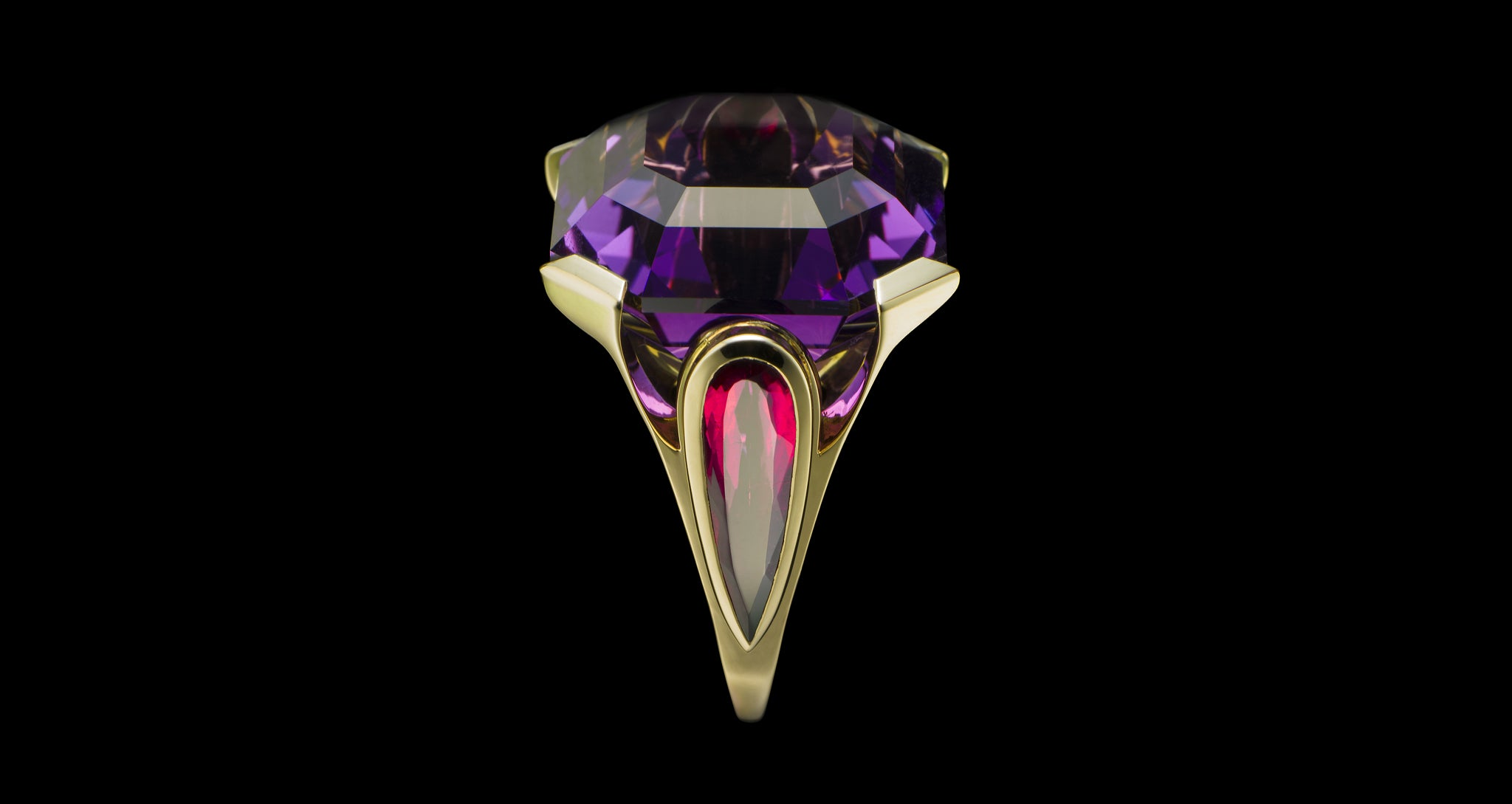 DEEP PURPLE RING