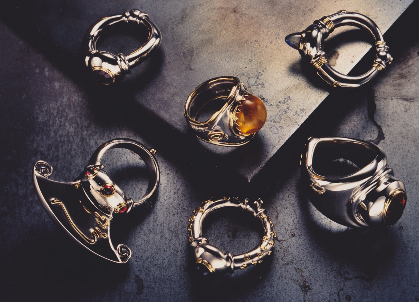 EARLY WORK<br>BLACK ENAMEL AND RESIN COLLECTION<br>1994
