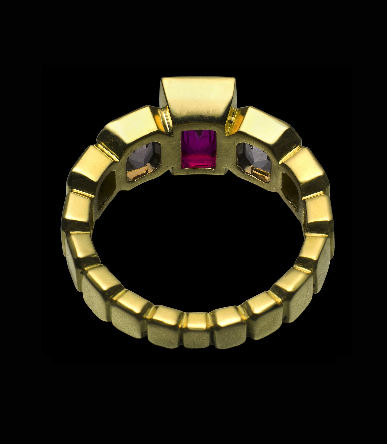 RUBY SPINEL RING