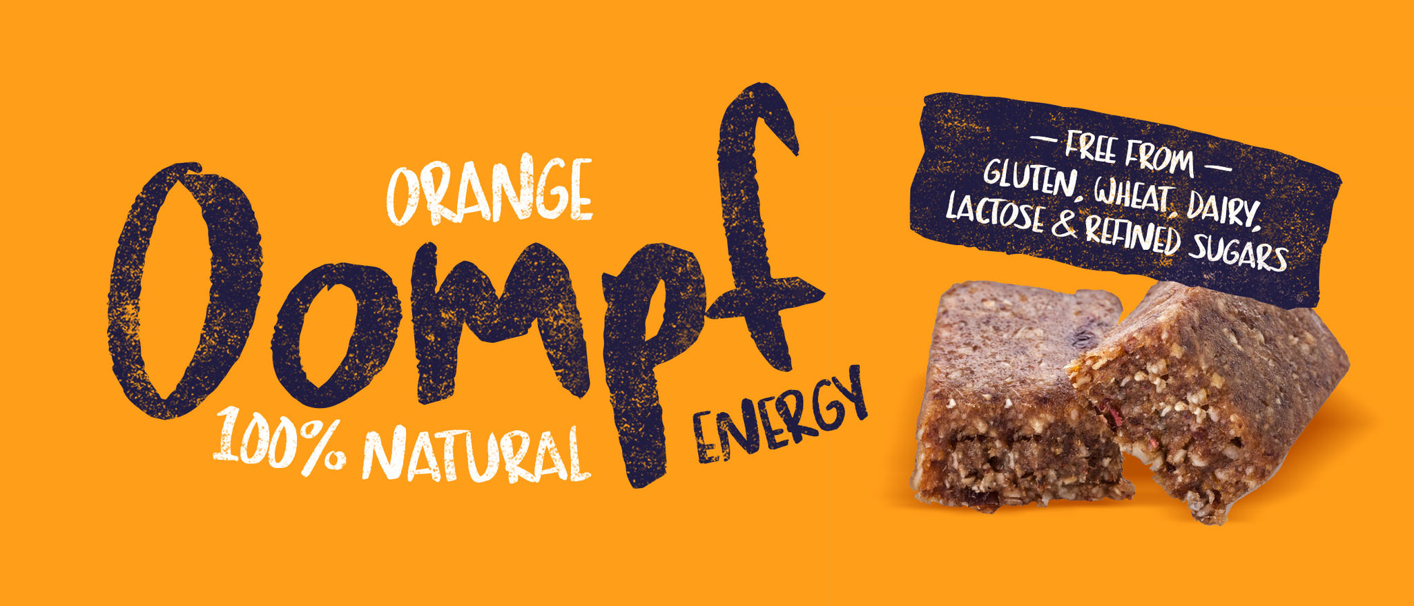 Orange Oompf <br/> Natural Energy Bars