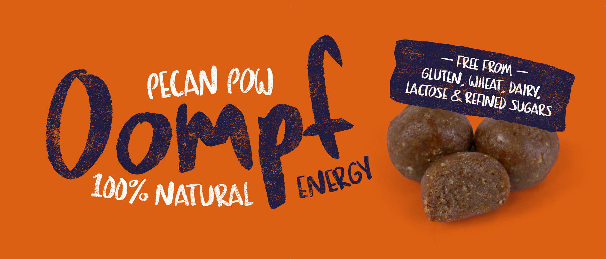 Pecan Pow <br/> Natural Energy Balls<br/>(Pack of 3)