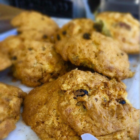 Pecan Raisin Scones