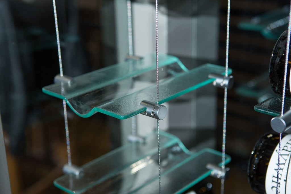 Glass Cradle with Clips