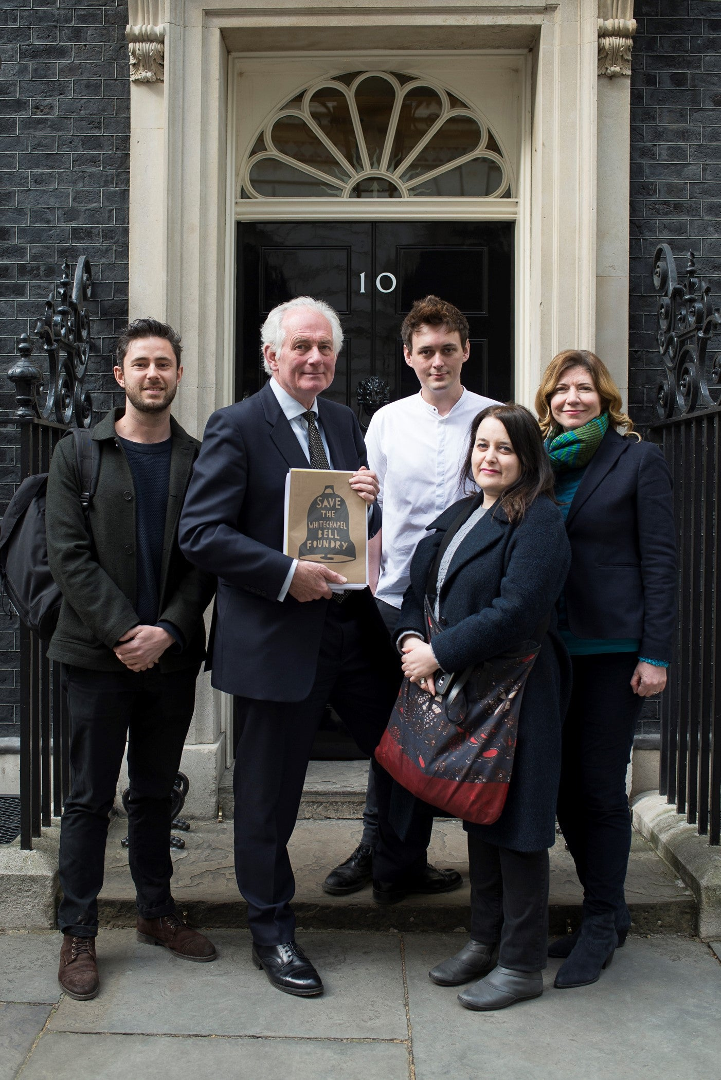Whitechapel Bell Foundry Petition Submitted to Downing Street