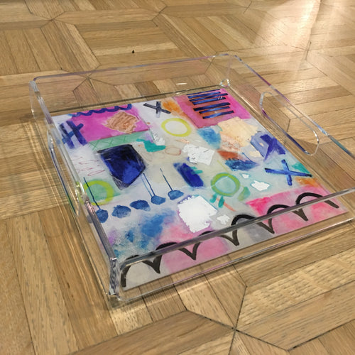 Square Acrylic Trays