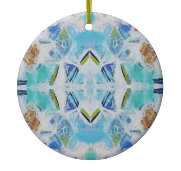 Light Kaleidoscope Ornament