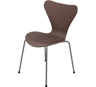 Arne Jacobsen-7'er stol i træ - natural walnut