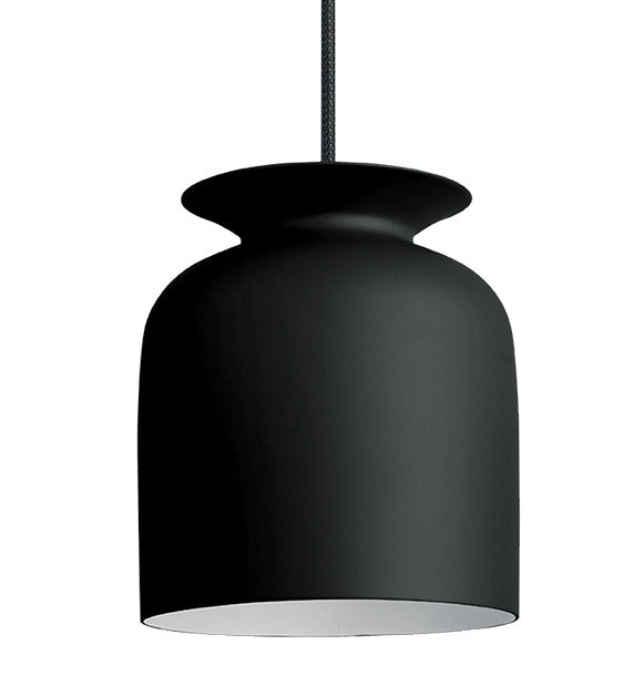 GUBI-RONDE-MEDIUM-LAMPE-PENDEL - charcoal black