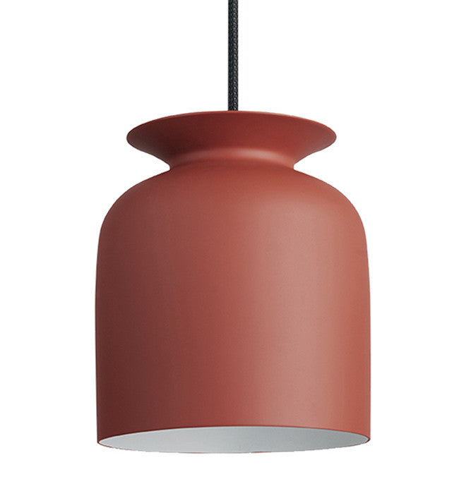 GUBI-RONDE-MEDIUM-LAMPE-PENDEL - rusty red
