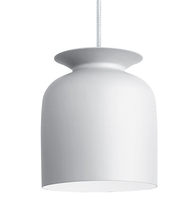 GUBI-RONDE-MEDIUM-LAMPE-PENDEL - matt white