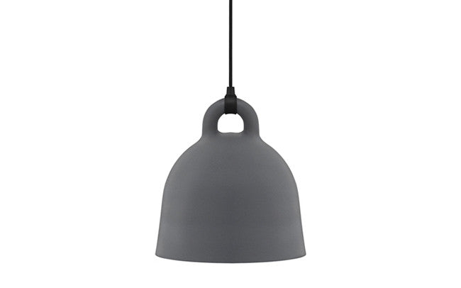 Normann Copenhagen - Bell lamp large - pendel - grey