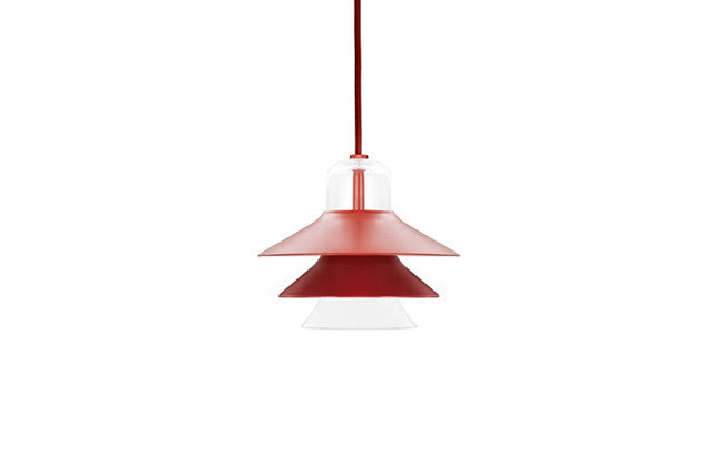 Normann Copenhagen - Ikono lamp small-pendel - red