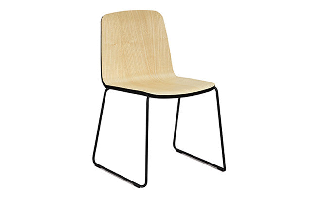 Normann Copenhagen-JUST-stol - ash/black/black