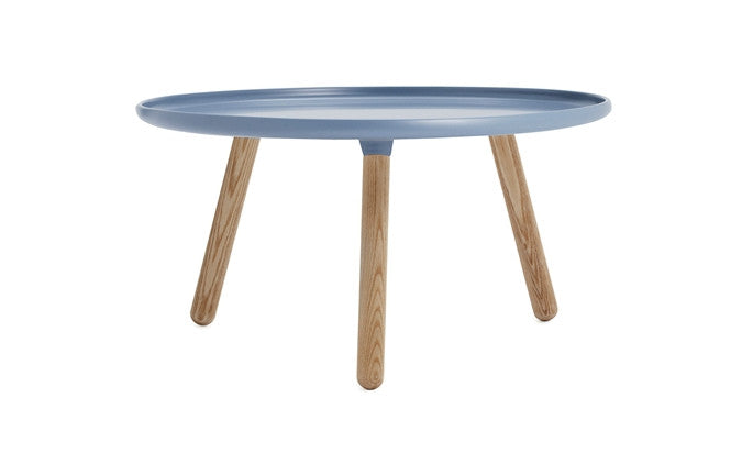 Normann Copenhagen - Tablo large round-bord - blue/ash
