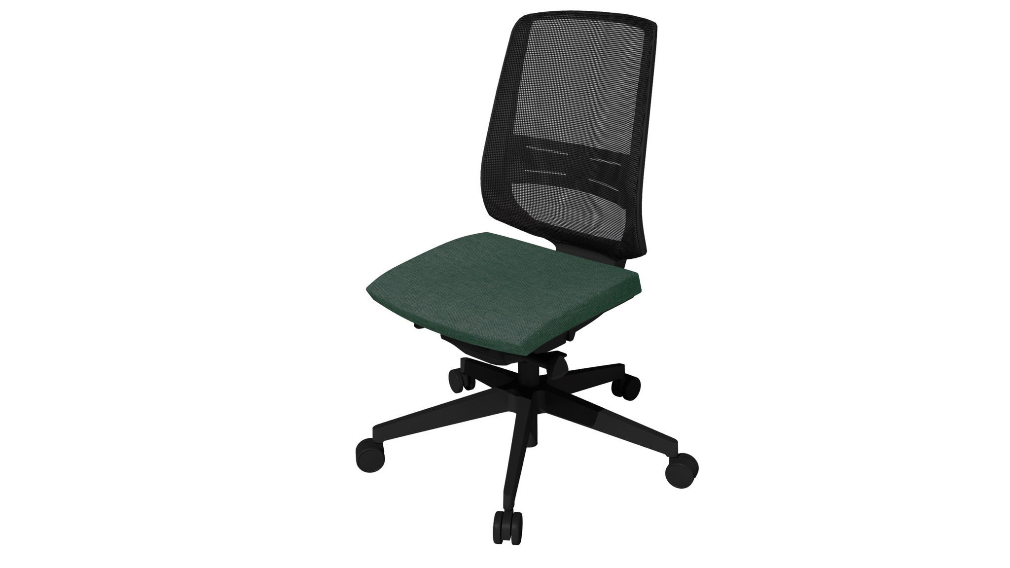 Rumas kontorstol office chair Fly pumpe - olive fabric (nx-11)