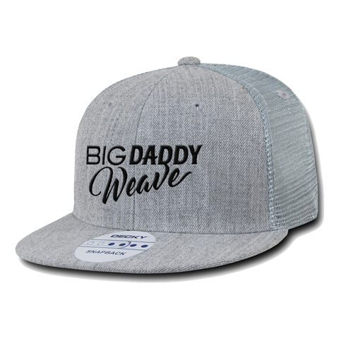 Big Daddy Weave Grey Decky Hat
