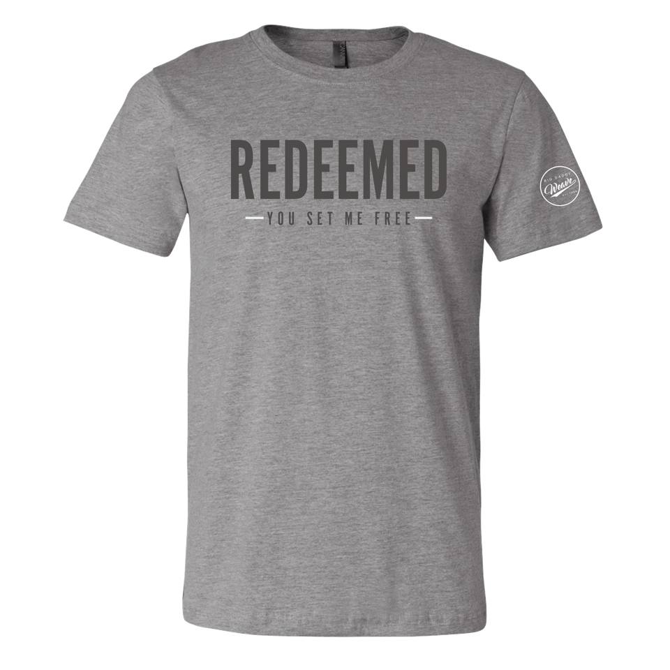 Redeemed Grey Tee