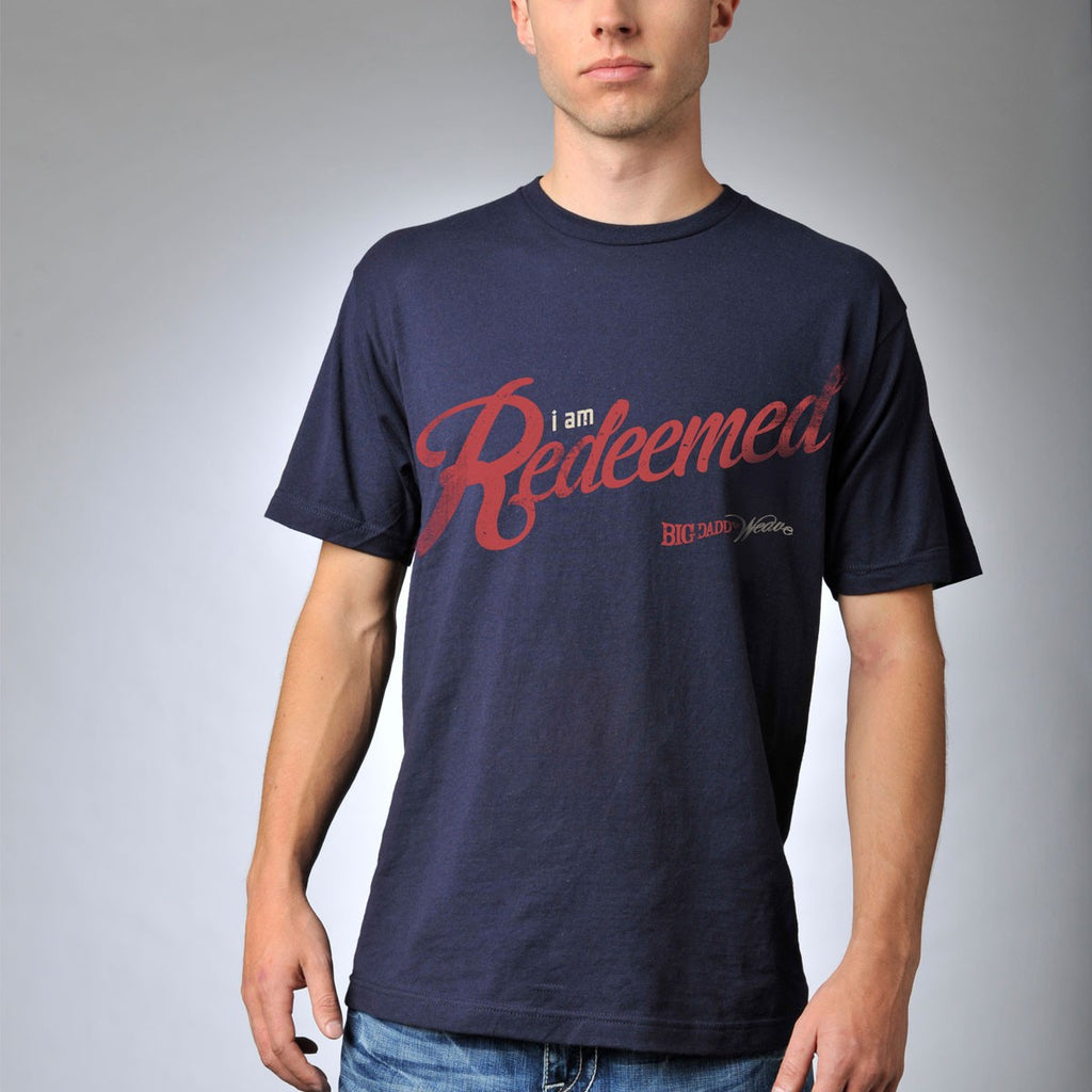 Navy Redeemed Shirt