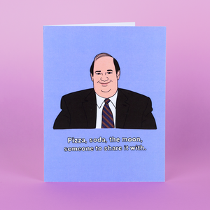 THE OFFICE • KEVIN MALONE CARD