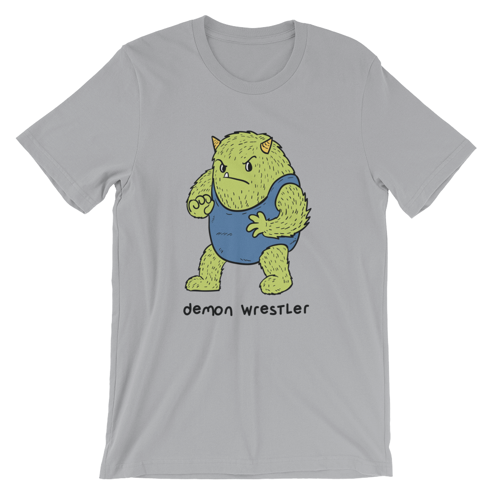 Demon Wrestler t-shirt