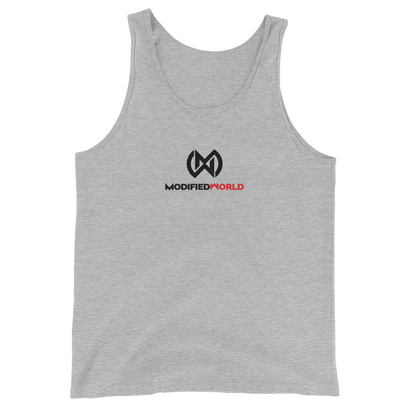 Modified World Logo tank-top