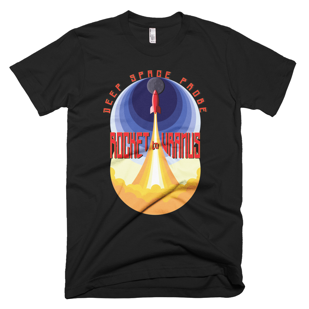 Rocket to Uranus T-shirt