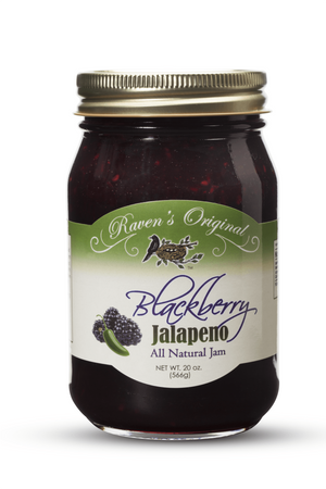Blackberry Jalapeno Jam (20 oz)