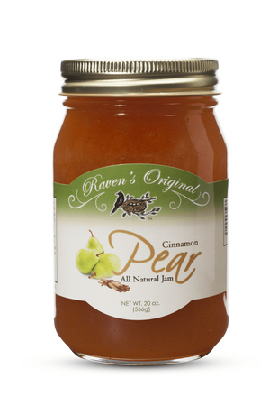 Cinnamon Pear Jam (20 oz.)