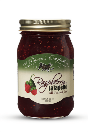 Raspberry Jalapeno Jam (20 oz.) ***Best Seller!