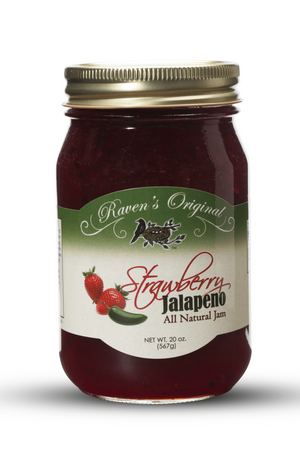 Strawberry Jalapeno Jam (20 oz.)