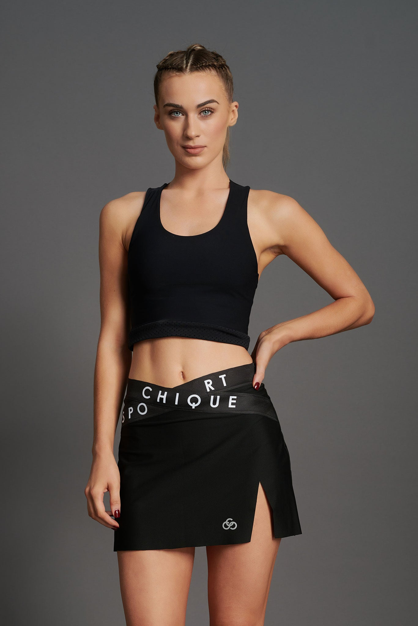 Fierce X Crop Top-3