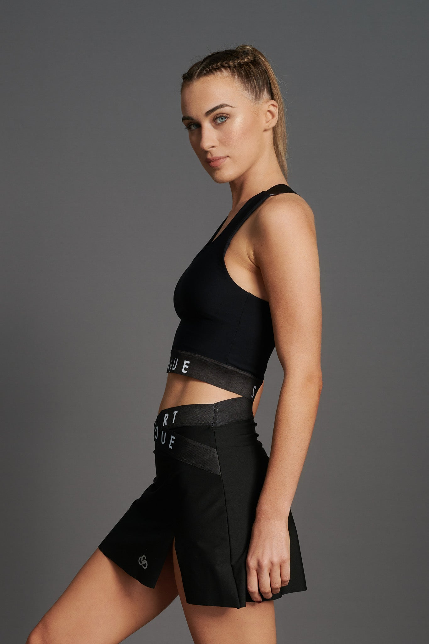 Fierce Halo Crop Top-5