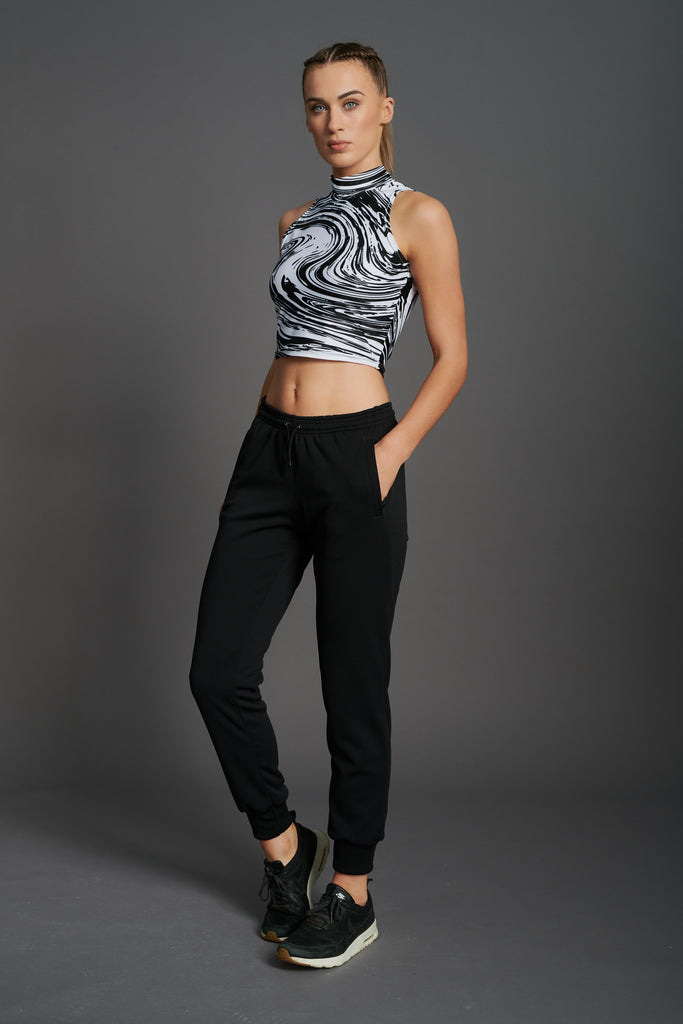 Fierce Sleeveless Crop Top-6