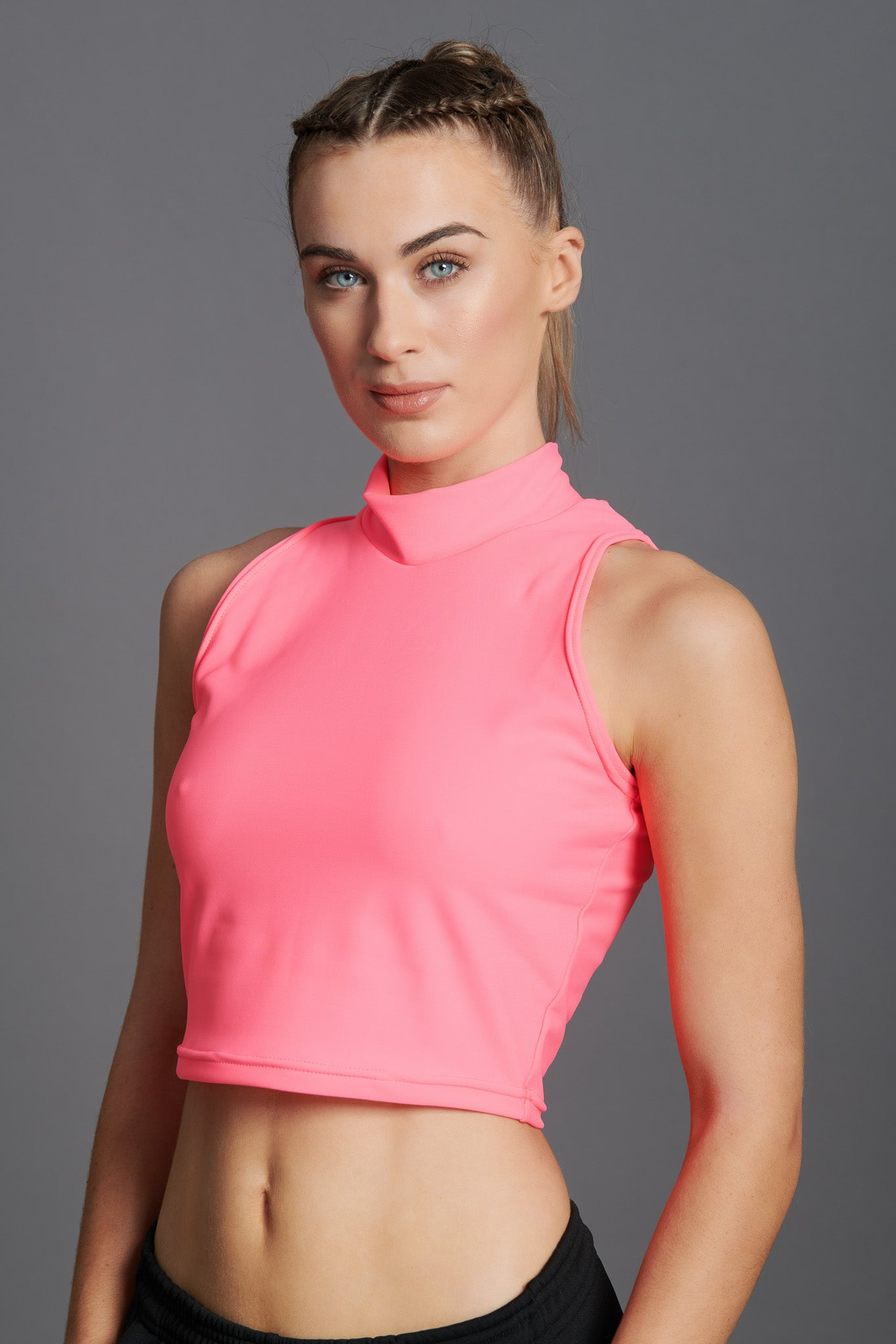 Fierce Sleeveless Crop Top-12