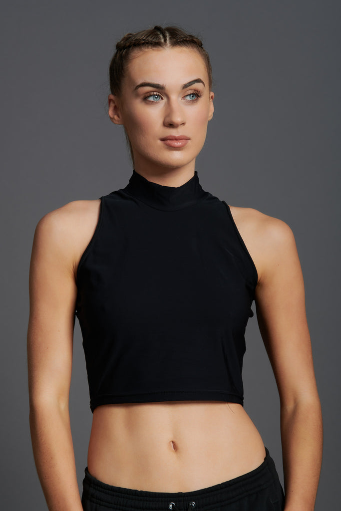 Fierce Sleeveless Crop Top-5