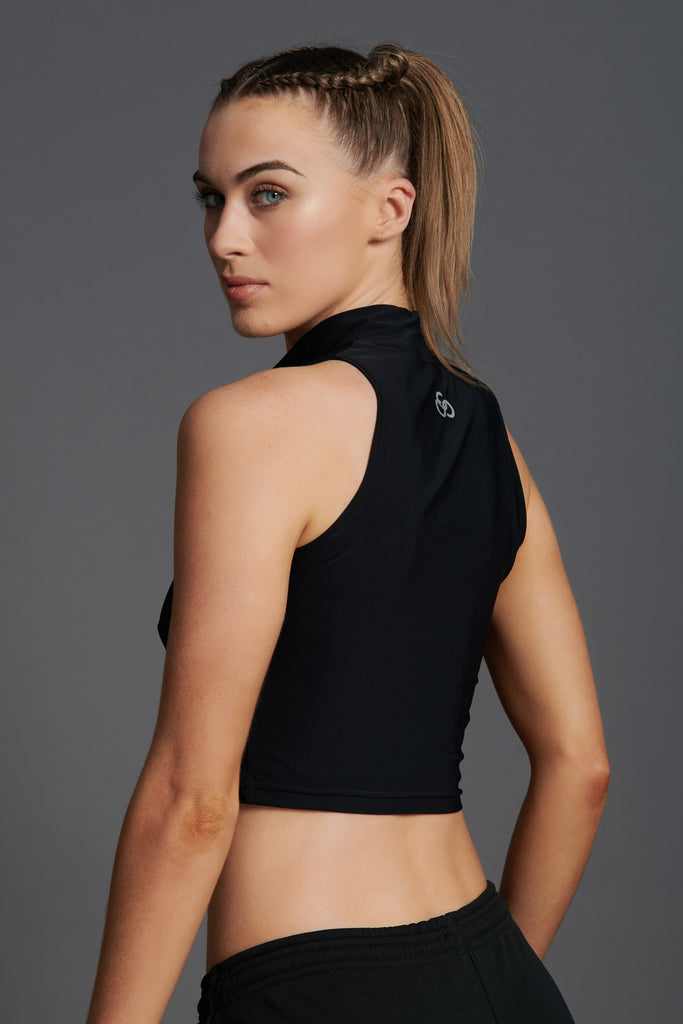 Fierce Sleeveless Crop Top-10
