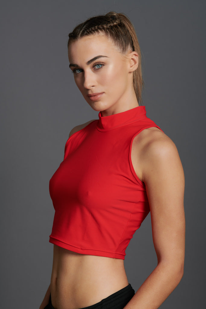 Fierce Sleeveless Crop Top-1