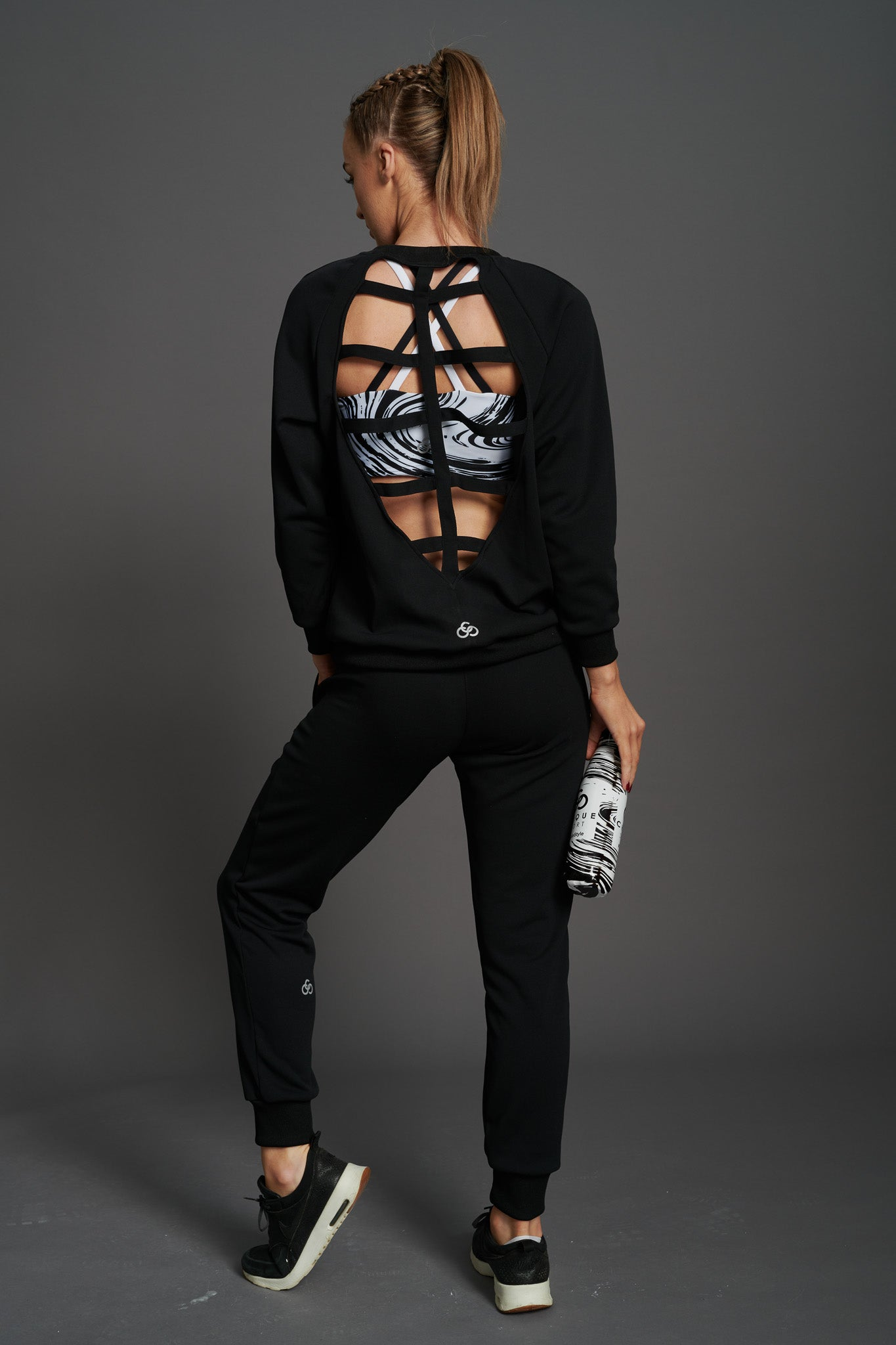 Fierce Open-back Sweatshirt