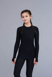 Desire long-sleeve top