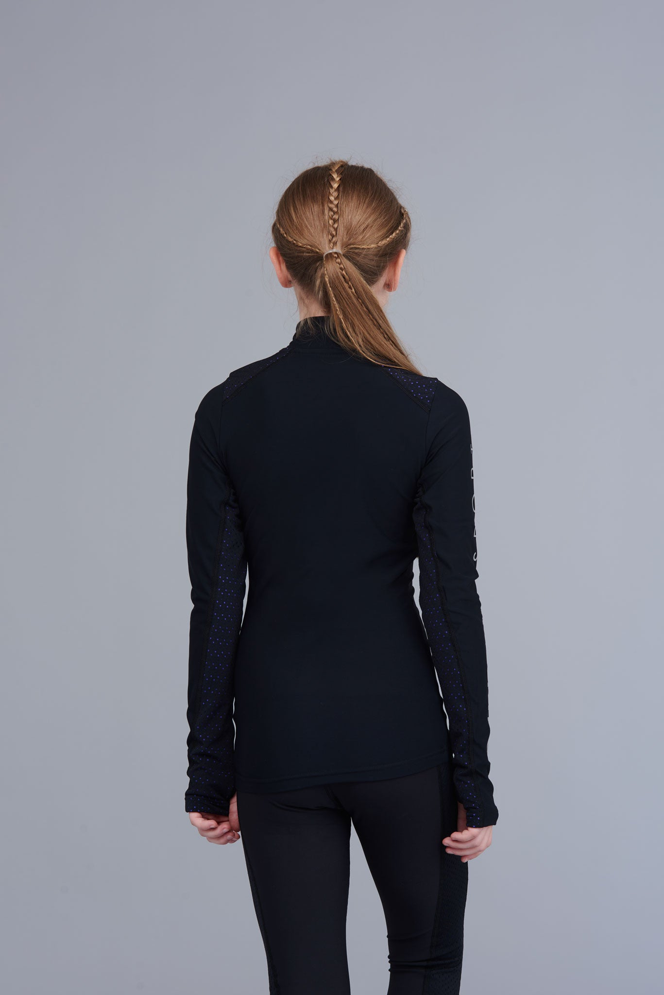 Passion half-zip top