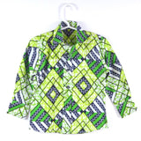 Zigs-n-Bricks Shirt - Green