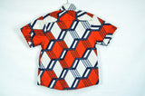 Geo Shirt - Red/White